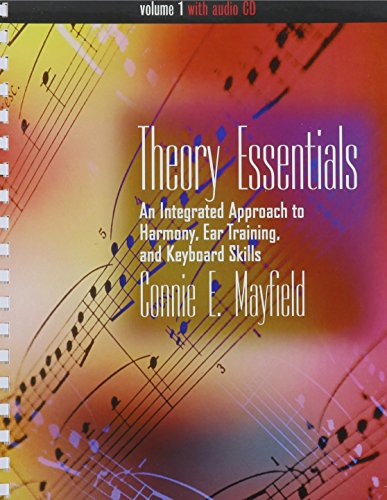 9780534460068: Bundle: Theory Essentials, Volume I (with Audio CD): An Integrated Approach to Harmony, Ear Training, and Keyboard Skills + Theory Essentials Workbook, Volume I