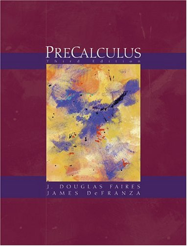 9780534462796: Precalculus (with BCA/iLrn Tutorial and InfoTrac) (Available Titles CengageNOW)