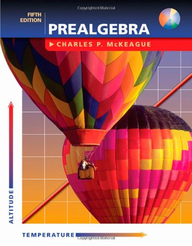 9780534464042: Prealgebra (with CD) (5th Edition) (Available Titles CengageNOW)