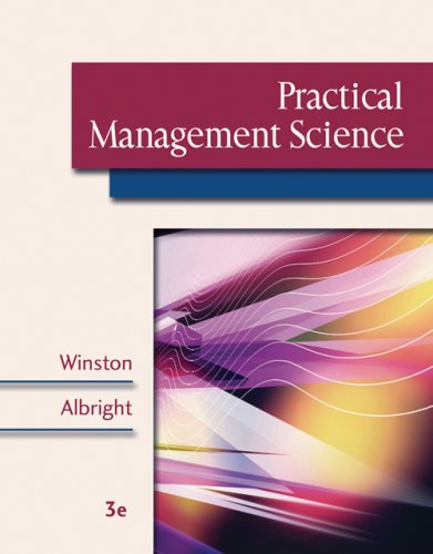 9780534465124: Practical Management Science (with CD-ROM, Decision Tools and Stat Tools Suite, and Microsoft Project 2003 120 Day Version)