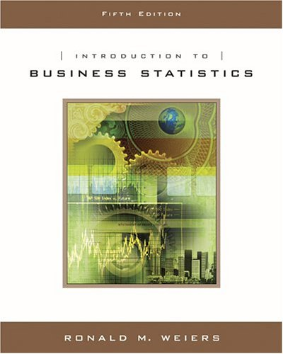 9780534465216: INTRO TO BUSINESS STATS 5E