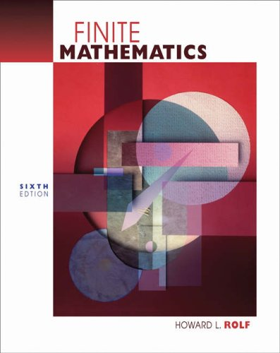 9780534465391: Finite Mathematics (with Digital Video Companion) (Available Titles CengageNOW)