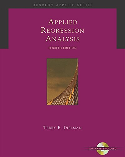 9780534465483: Applied Regression Analysis: A Second Course in Business and Economic Statistics (Book, CD-ROM & InfoTrac)