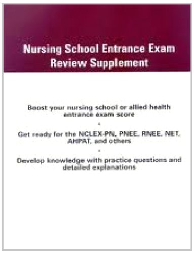 nursing school entrance exam pdf