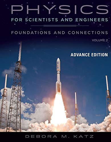 9780534466862: Physics for Scientists and Engineers: Foundations and Connections, Advance Edition, Volume 2