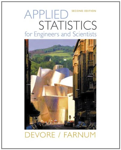 9780534467197: Applied Statistics for Engineers and Scientists