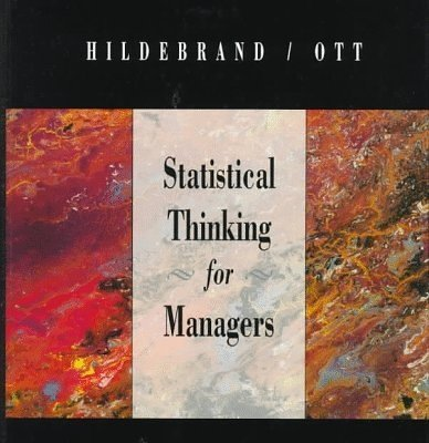 9780534476540: Statistical Thinking for Managers