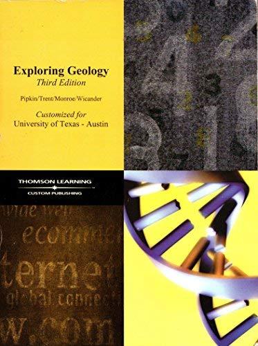 9780534477349: Exploring Geology (Customized for University of Texas - Austin)