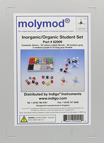 9780534491055: Organic-Inorganic Chemistry Molecular Student Set #62009