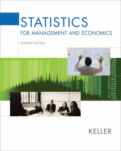 9780534491246: Statistics for Management and Economics (with CD-ROM and InfoTrac) (Available Titles CengageNOW)