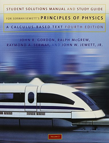 9780534491475 student solutions manual and study guide volume 2 rh abebooks com Physics Serway 4th Wilson Physics Serway Jewett