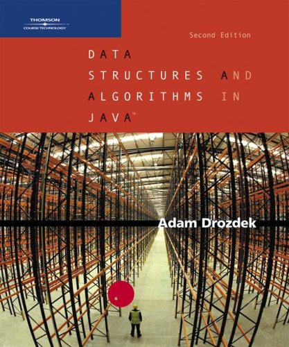 9780534492526: Data Structures and Algorithms in Java