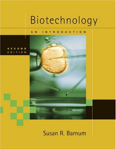 9780534492960: Biotechnology: An Introduction (with InfoTrac)