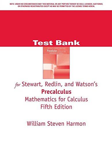 TB Precalc Math Calc-CD 5e: Redlin