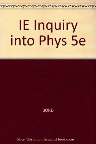 9780534493301: Inquiry into Physics
