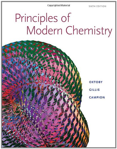 9780534493660: Principles of Modern Chemistry, Sixth Edition