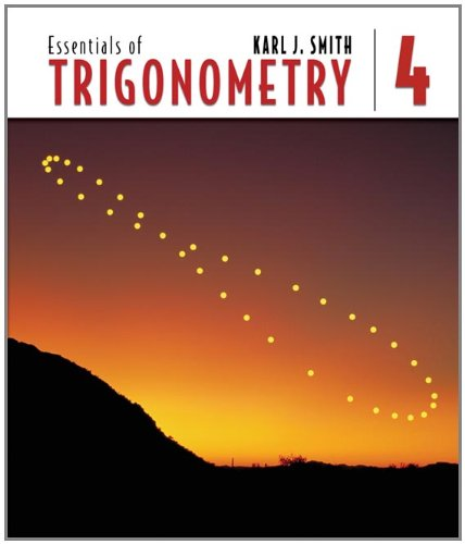 9780534494230: Essentials of Trigonometry (with CD-ROM and iLrn™ Tutorial) (Available Titles Cengagenow)