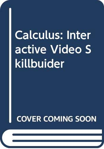 Interactive Video Skillbuider CD-ROM for Tan's Calculus (0534494382) by Soo T. Tan