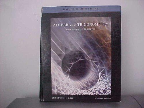 9780534494506: Aie Alg/Trig W/Anl Geom 11e