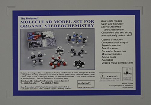 9780534494650: Molecular Model Set for Organic Stereochemistry