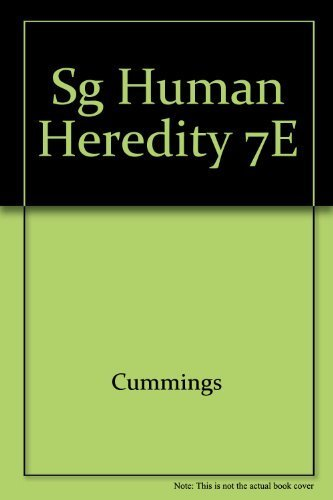 Study Guide for Cummings' Human Heredity: Principles and Issues, 7th: Cummings, Michael