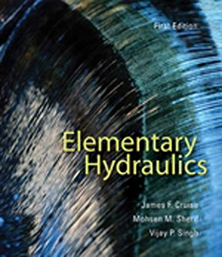 Elementary Hydraulics: Cruise, James F.