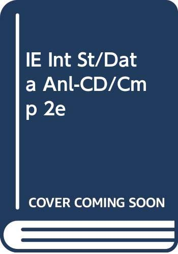 9780534495374: IE Int St/Data Anl-CD/Cmp 2e