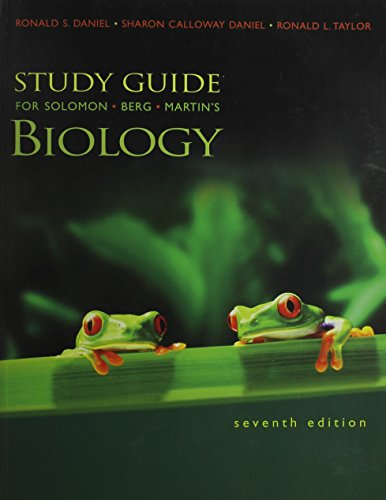 9780534495480: Study Guide for Solomon/Berg/Martin's Biology (with InfoTrac), 7th