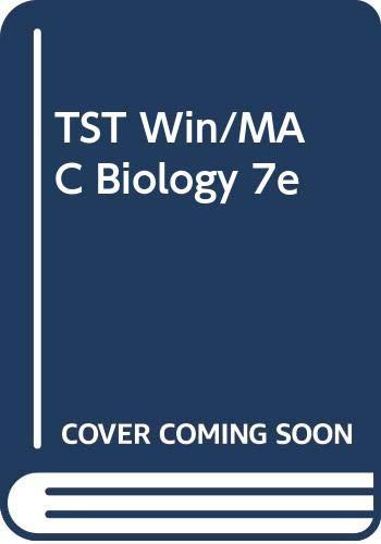 9780534495565: TST Win/MAC Biology 7e