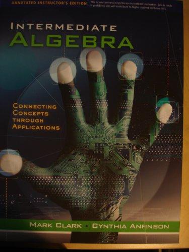 9780534496371: A I.E. Intermediate Algebra