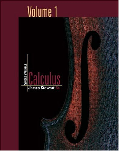 9780534496760: Single Variable Calculus, Volume 1