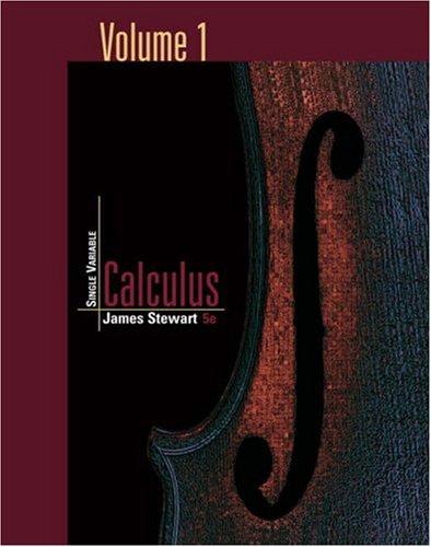 9780534496760: Single Variable Calculus, Volume 1