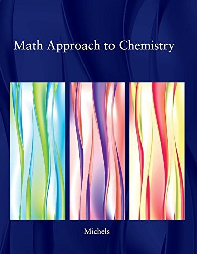 9780534498368: Math Approach to Chemistry
