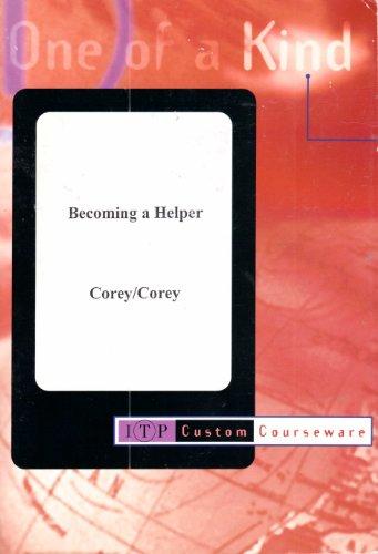 9780534499273: Becoming a Helper