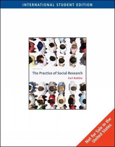 9780534504717: The Practice of Social Research