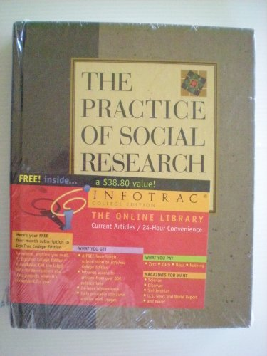 9780534505073: Practice of Social Research (with InfoTrac)