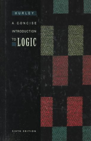 9780534505356 A Concise Introduction To Logic Sixth Edition