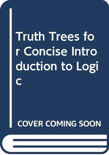 9780534505387: Truth Trees for Concise Introduction to Logic
