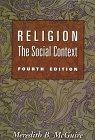 9780534505721: Religion: The Social Context