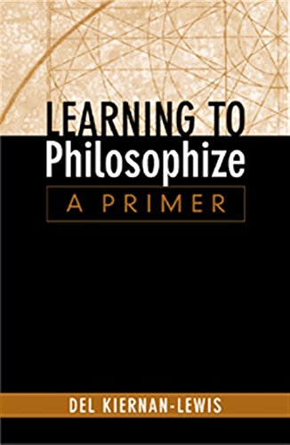 9780534505899: Learning to Philosophize: A Primer