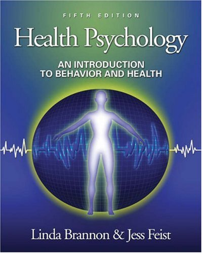 9780534506001: Health Psychology: An Introduction to Behavior and Health (with InfoTrac), Fifth Edition