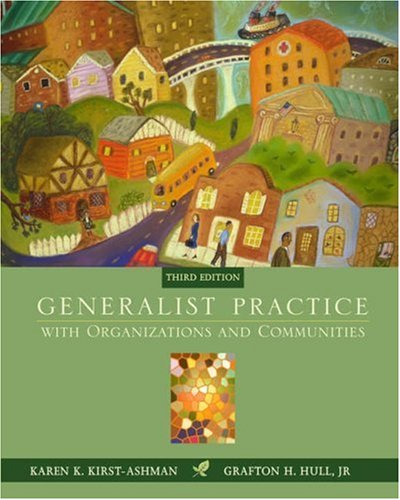 9780534506292: Generalist Practice with Organizations and Communities