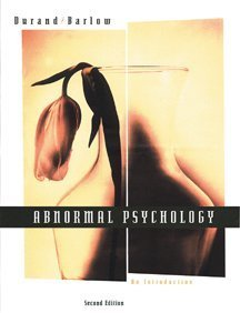 Abnormal Psychology: An Introduction (Paperbound with CD-ROM): V. Mark Durand,