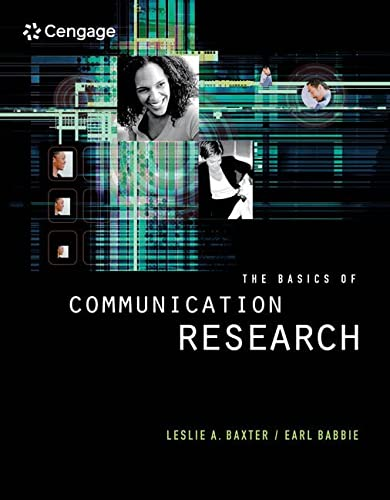 9780534507787: The Basics of Communication Research (with InfoTrac) (Wadsworth Series in Speech Communication)
