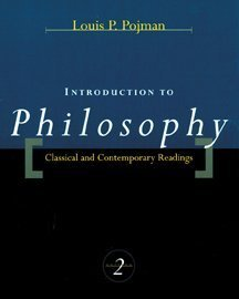 9780534509859: Introduction to Philosophy: Classical and Contemporary Readings