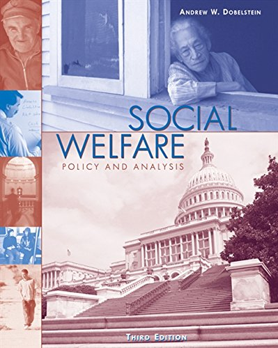 9780534509866: Social Welfare: Policy and Analysis (Social Welfare Policy & History)