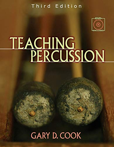 9780534509903: Teaching Percussion (with 2-DVD Set)