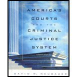 9780534510695: America's Courts and the Criminal Justice System