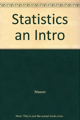9780534510701: Statistics: An Introduction