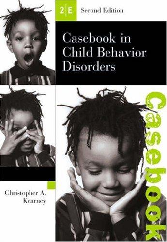 9780534512491: Casebook in Child Behavior Disorders